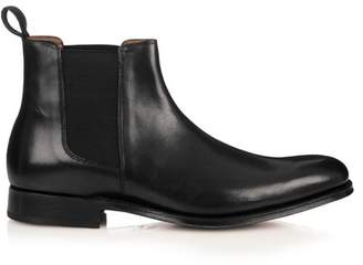 Grenson Declan Leather Chelsea Boots - Mens - Black