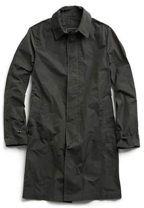 Todd Snyder Tech Trenchcoat in Olive