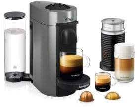 Nespresso Vertuo Plus Bundle Coffee and Espresso Machine ENV150GYAECA