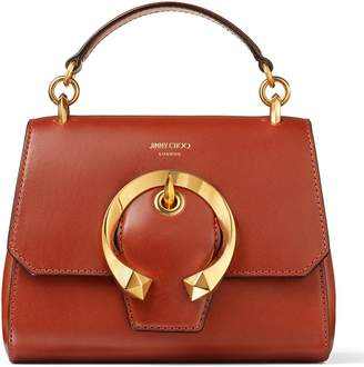 Jimmy Choo Leather Madeline Top Handle Bag