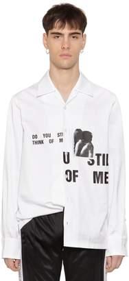 Misbhv Do You Still Cotton Twill Shirt