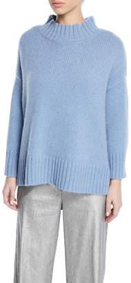 Eileen Fisher Lofty Cashmere Turtleneck Sweater