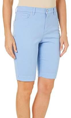 Gloria Vanderbilt Women's Amanda Bermuda Denim Short