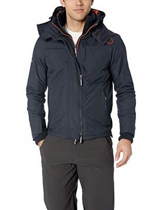 Superdry Men's Arctic Hooded Pop Zip Windcheater Jacket