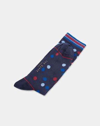 Ted Baker SAMTI Spot pattern cotton socks
