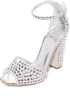 Giuseppe Zanotti Embellished Sandals $1,295 thestylecure.com