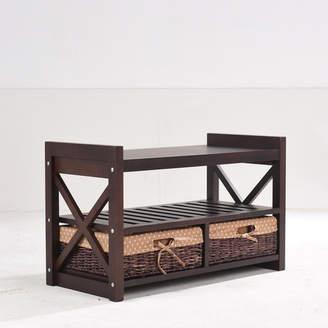 Greenville Signature Harmony Wood Storage Bench