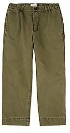 Gucci Kids' Cotton-Twill Trousers - Green