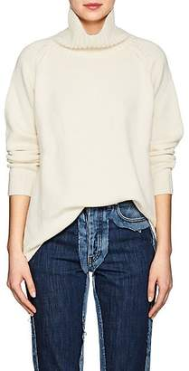 Barneys New York Women's Oversized Cashmere Turtleneck Sweater - Ivorybone