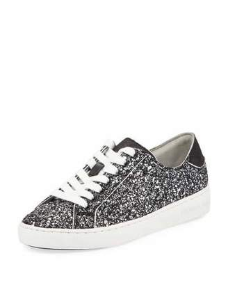 MICHAEL Michael Kors Harper Glitter Lace-Up Sneakers