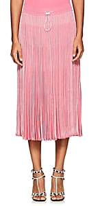 Valentino Women's Striped Knit Midi-Skirt-Pink