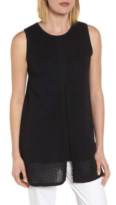 Ming Wang Split Back Tunic Top
