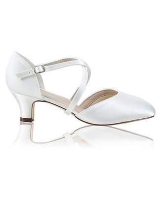 Nica Perfect Renate Wide Fit Satin Low Heel