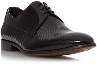 Dune MENS RAPHAELL - Contrast Vamp Patent Derby shoe