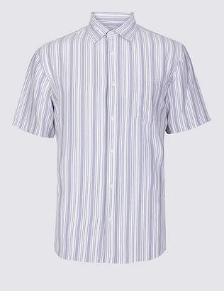 Marks and Spencer Modal Rich Striped Shirt