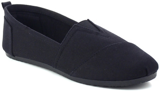 Black Nina Canvas Slip-On Shoe $25.99 thestylecure.com