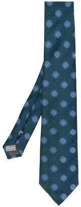 Canali floral print tie