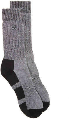 Timberland Wool Blend Crew Socks - 2 Pack - Men's