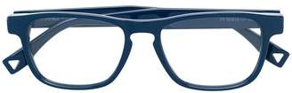 Fendi Eyewear rectangle frame glasses