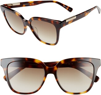 Longchamp Heritage 53mm Rectangle Sunglasses