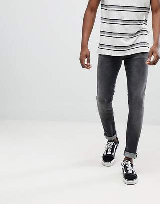 Nudie Jeans Skinny Lin Jeans Black Movement