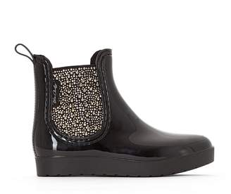BeOnly BE ONLY Caroline Gold Wellington Boots