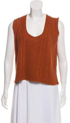 Etro Cashmere Cable Knit Top