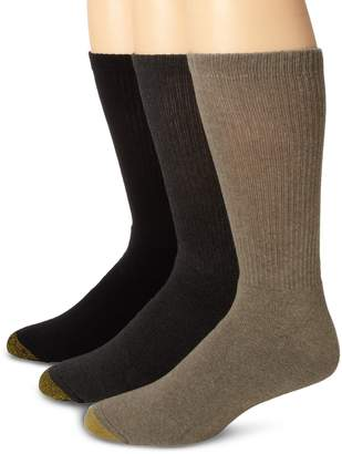 Gold Toe Men's Uptown Crew 3 Pack Socks