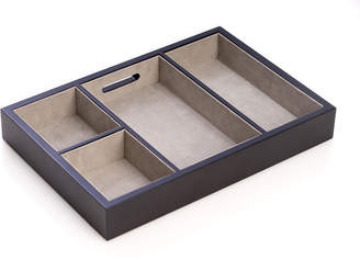 Bey-Berk Wood Open Valet Tray