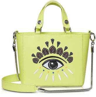283213896c9d Kenzo Small Eye Leather Tote Bag