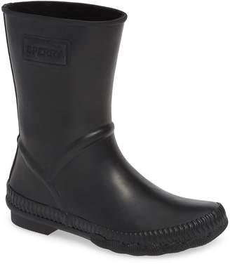 Sperry Saltwater Current Fair Isle Waterproof Rain Boot