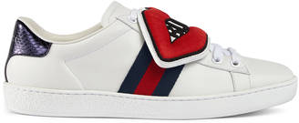 Ace sneaker with removable embroideries $695 thestylecure.com