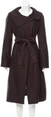 Pauw Long Jacquard Coat