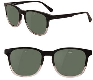 Vuarnet District Medium 53mm Polarized Sunglasses
