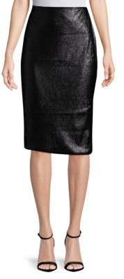 MinkPink Sequined Midi Skirt