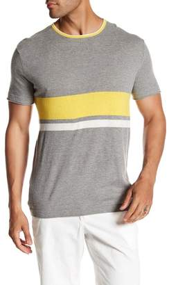 Parke & Ronen Striped Knit Tee