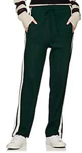 Etoile Isabel Marant Women's Docia Striped Track Pants - Dk. Green