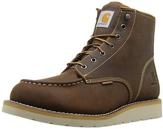 "Carhartt Men's CMW6095 6"" Moc Toe Casual Wedge Work Boot"