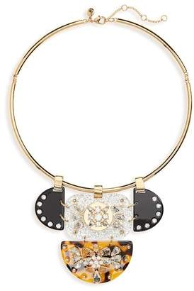 J.Crew J. Crew Crystal & Lucite Collar Necklace