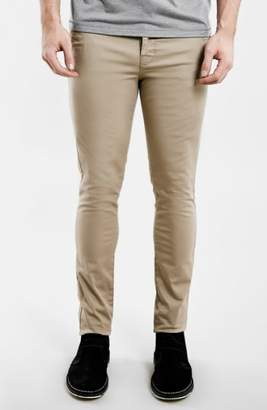 Topman Stretch Skinny Fit Chinos