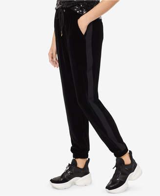 Michael Kors Velvet Tuxedo Track Pants