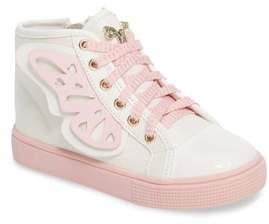 WellieWishers from American Girl Ashlyn Butterfly High Top Sneaker