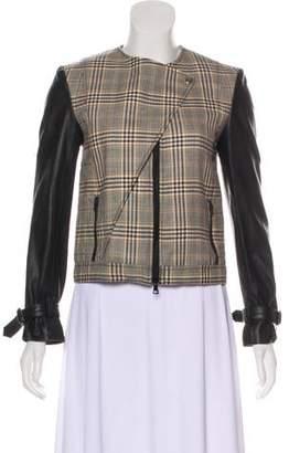 Jenni Kayne Wool Plaid Jacket