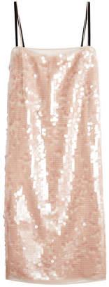 N°21 N21 Sequin-Embellished Silk Dress