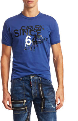 DSQUARED2 Chic Dan Fit Crewneck T-Shirt