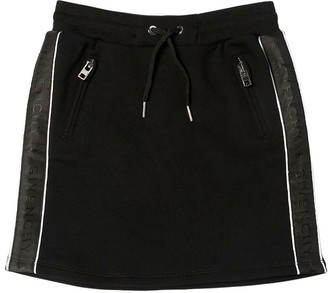 Givenchy Side Band Cotton Mini Skirt