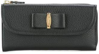 Salvatore Ferragamo Vara organiser zip wallet