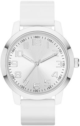 FASHION WATCHES Womens Sunray Dial Silicone Strap Watch $30 thestylecure.com