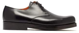 Junya Watanabe X Heinrich Dinkelacker Leather Derby Shoes - Mens - Black