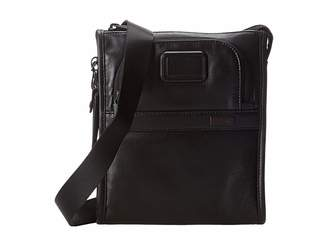 Tumi Alpha 2 - Leather Pocket Bag Small